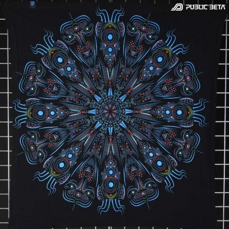 Blacklight Active Psychedelic Art Print