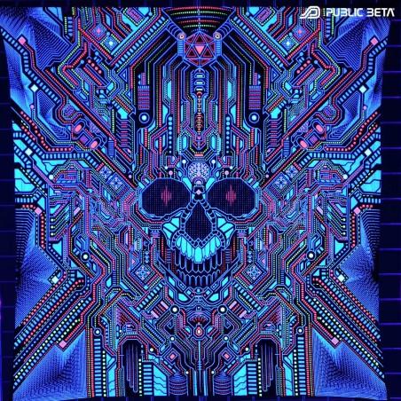 Psychedelic UV Art Print. Public Beta Wear