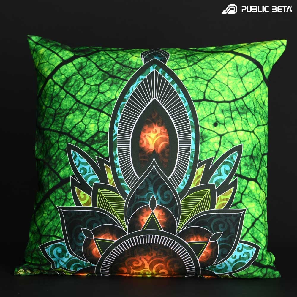 Native UV D81 Pillow Case / Psychedelic Deco