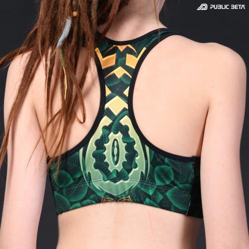 CivilEye D129 UV Active Top / Psychedelic Yoga Wear