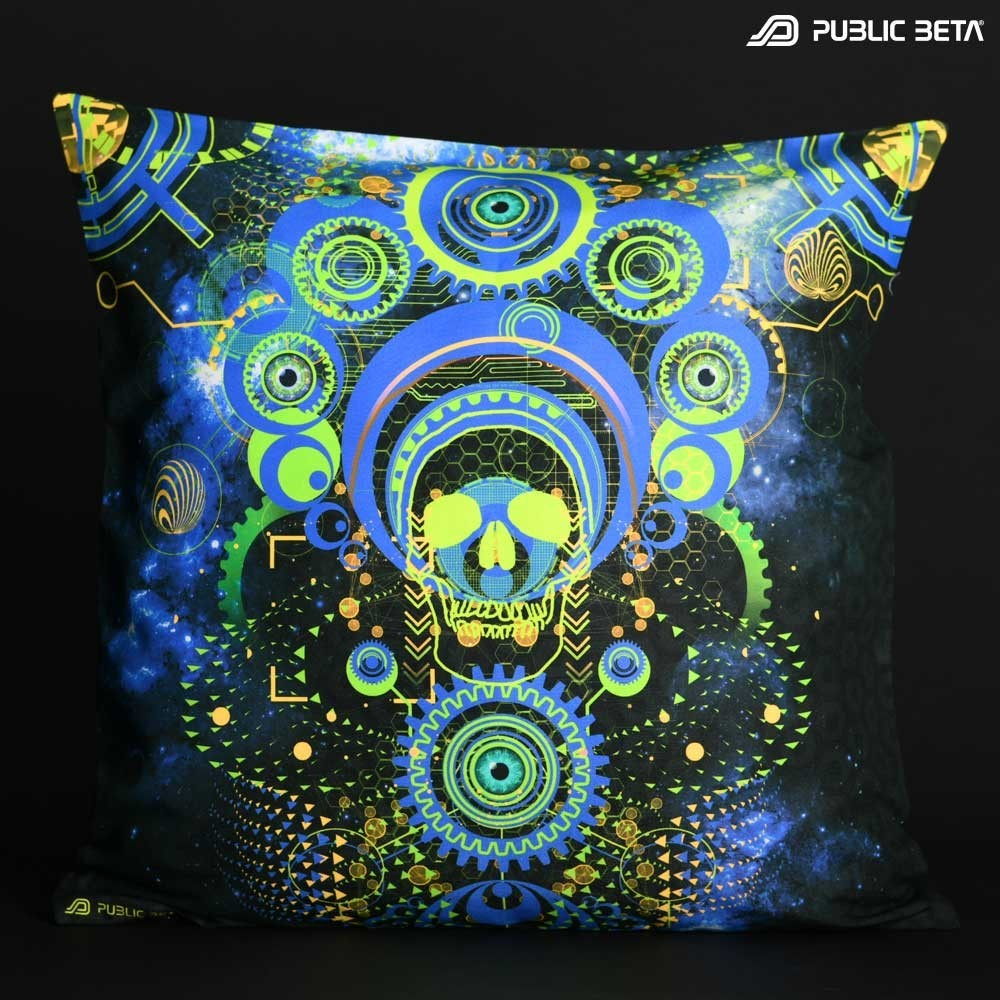 Host D119 Blacklight Pillow Cover