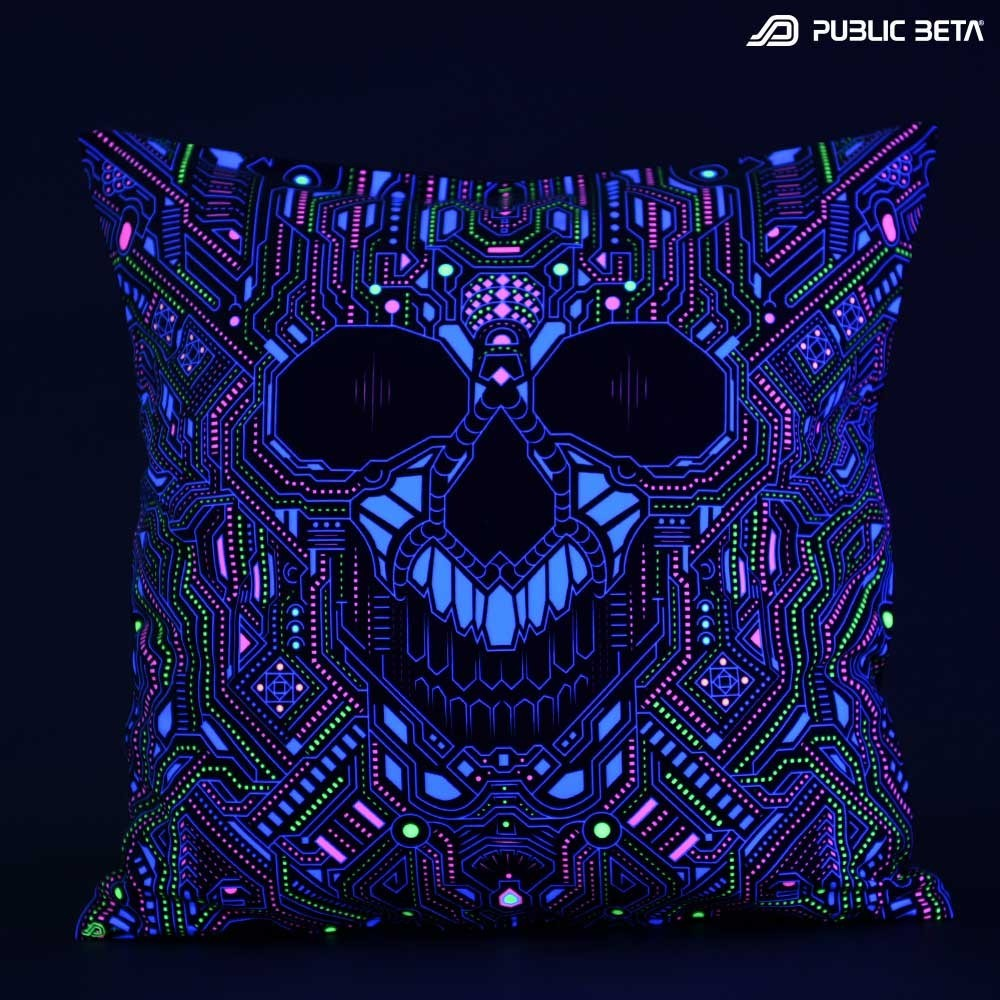 Blacklight Cushion Cover / BOT UV D121