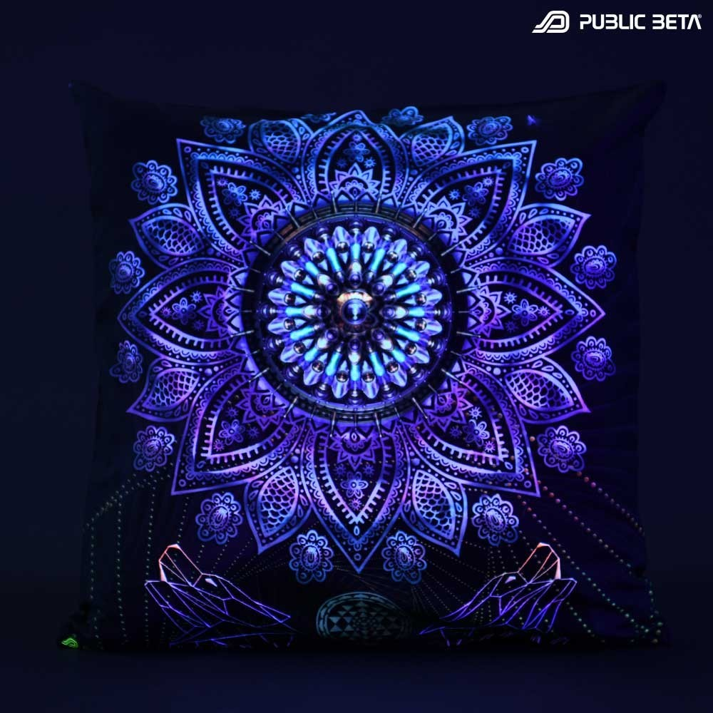 Glow in Blacklight Psyart Home Decoration