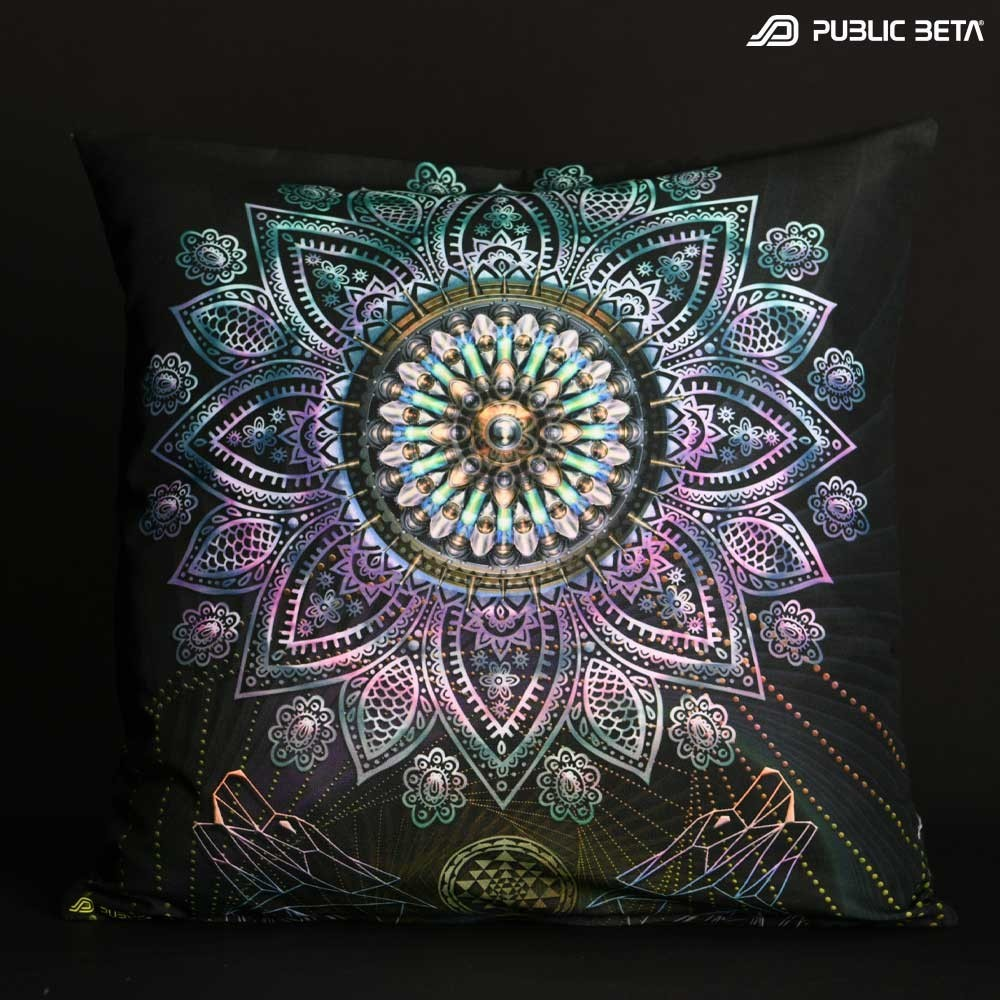 Singular UV D131 Blacklight Pillow Cover