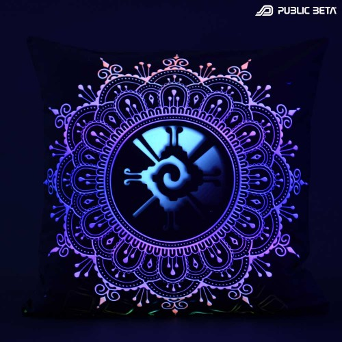 Hunab Ku UV D134 Blacklight Pillow Cover