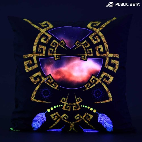 Astral UV D145 Blacklight Pillow Cover / Psydeco