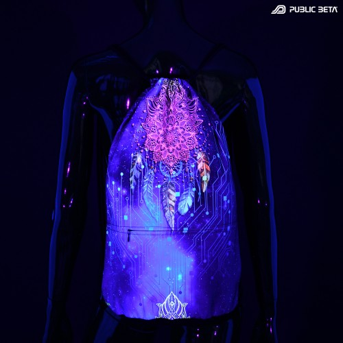 Blacklight Psywear. Backpack