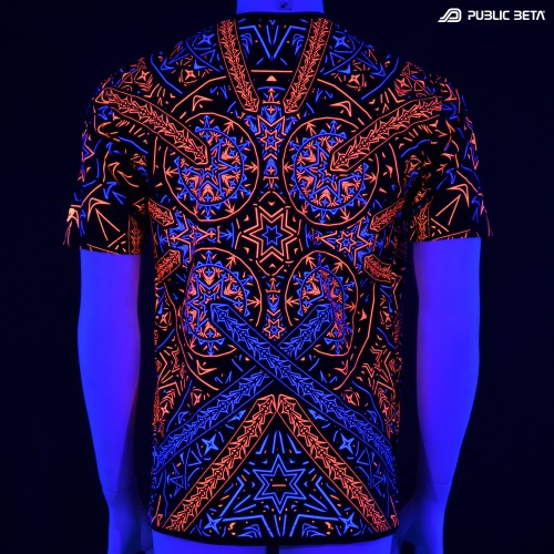 Blacklight Active T-Shirt / Fortune Teller UV D141