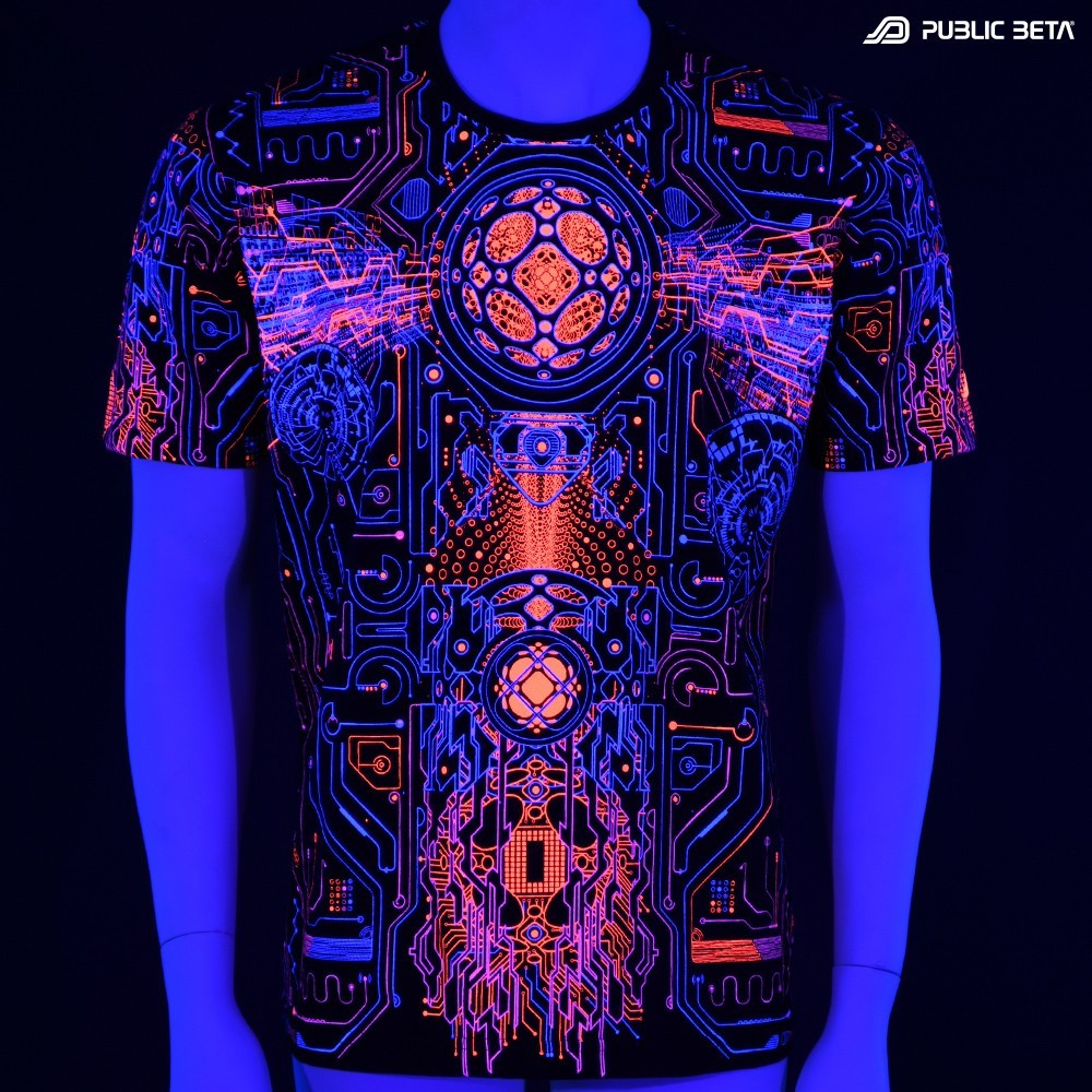 Blacklight T-Shirt. Psyclothing