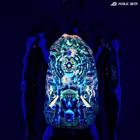 Psywear Accessories. Blacklight Fashion.