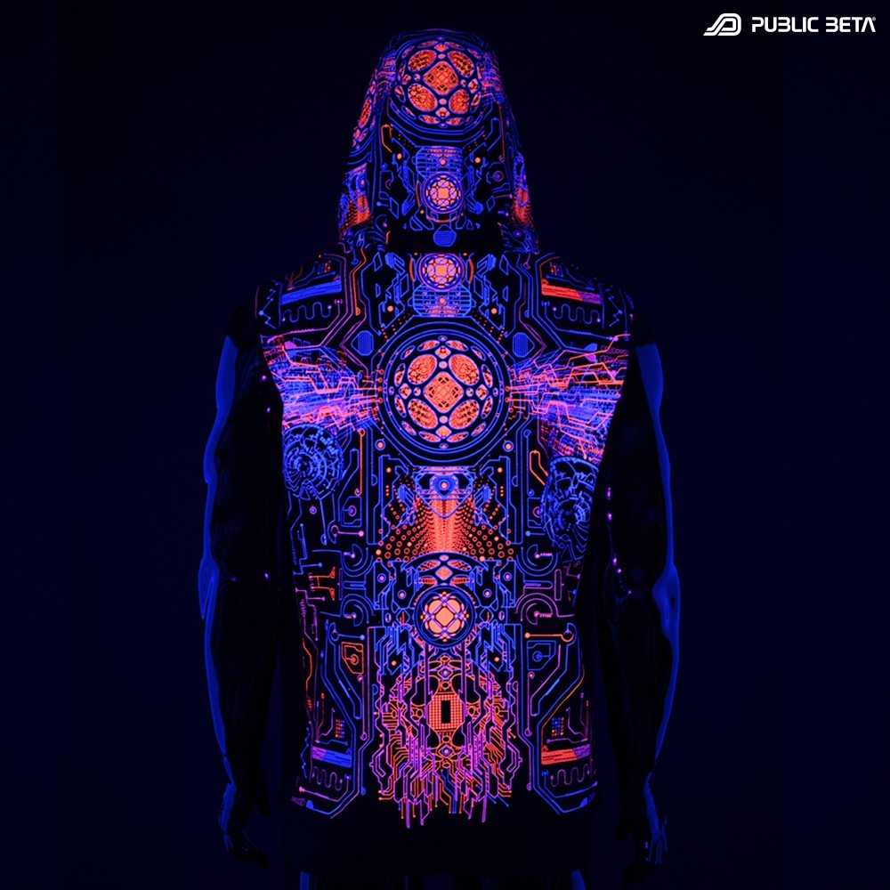 Blacklight Clothing.