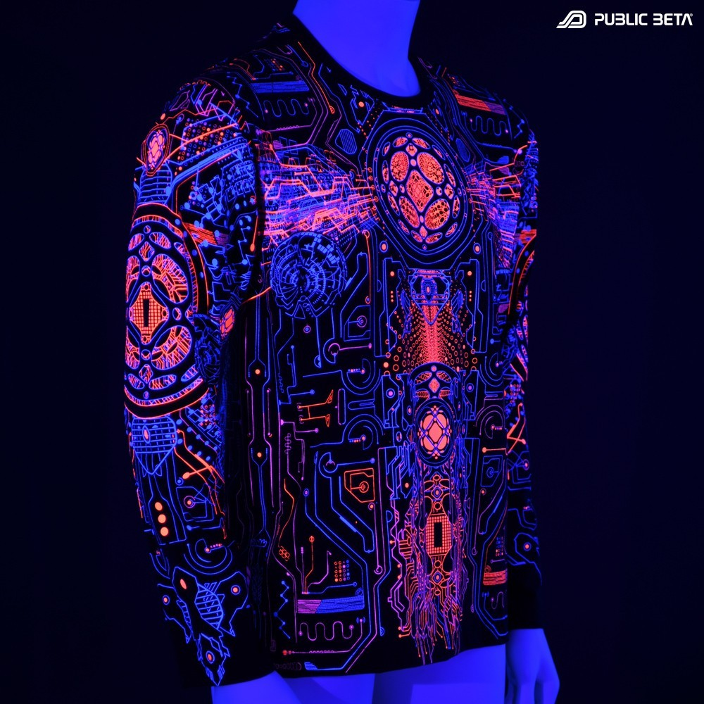 Motherboard D146 UV / Longsleeve Shirt