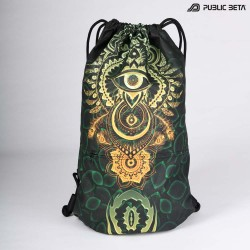 Glow in Blacklight  Backpack / CivilEye D129 UV