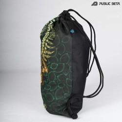 Glow in Blacklight  Backpack / CivilEye D129 UV