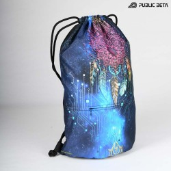 Blacklight Drawstring Backpack / Glow D130 UV