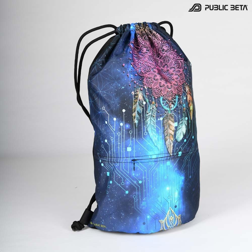 Blacklight Drawstring Backpack / Glow D130 UV