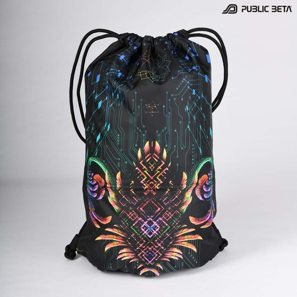 Supernatural D136 UV / Glow in Blacklight Backpack