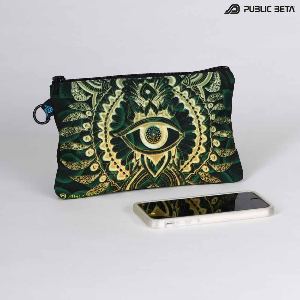 Blacklight Beauty Case / Wallet / CivilEye D129