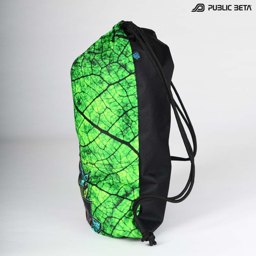 Glow in Blacklight Drawstring Backpack / Native D81 UV