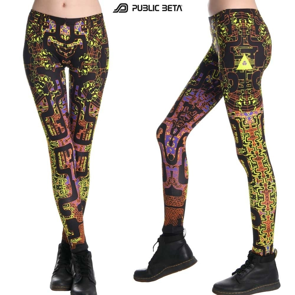 UV Active Psy Leggings