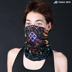 Tube Bandana / UV Active Face Mask /Supernatural D136