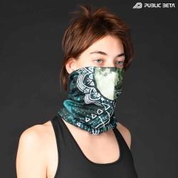Tube Bandana / UV Active Face Mask/ FullMoon D55