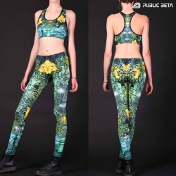 Psychedelc Clothing for Psychedelic Yogis, UV Active prints