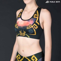 Astral D145 UV Active Top / Psychedelic Yoga Wear