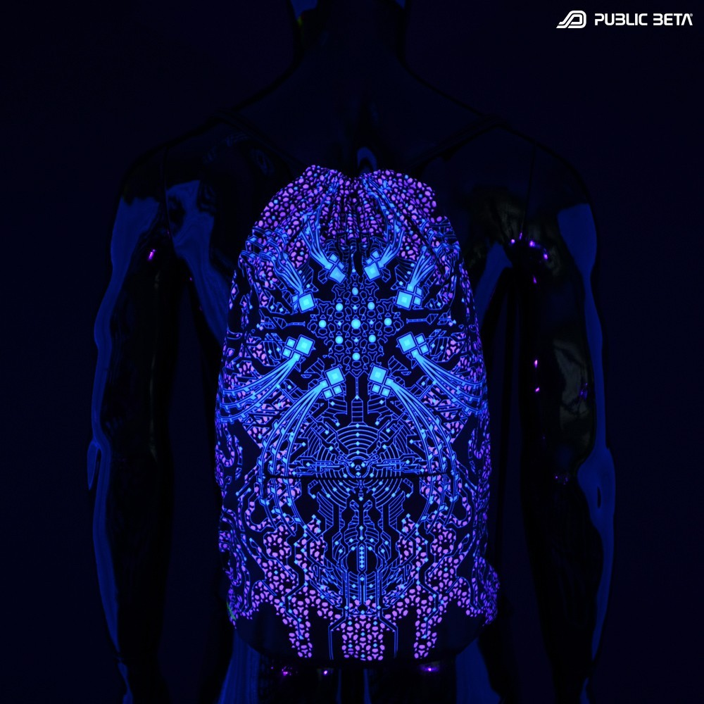 Psywear Accessories. Glow in Blacklight Prints.