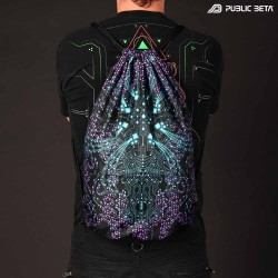 Dark Nebula D5 UV / Blacklight Backpack