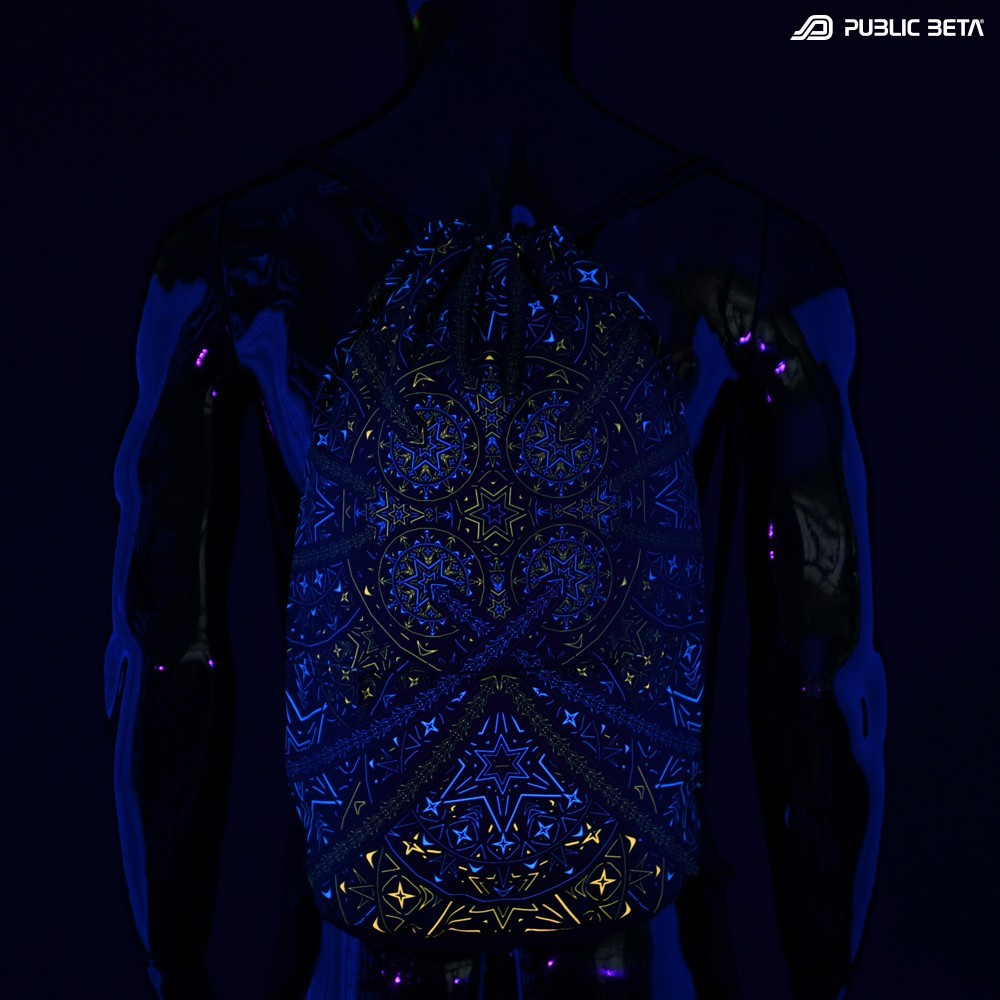 Fortune Teller D141 UV / Blacklight Backpack