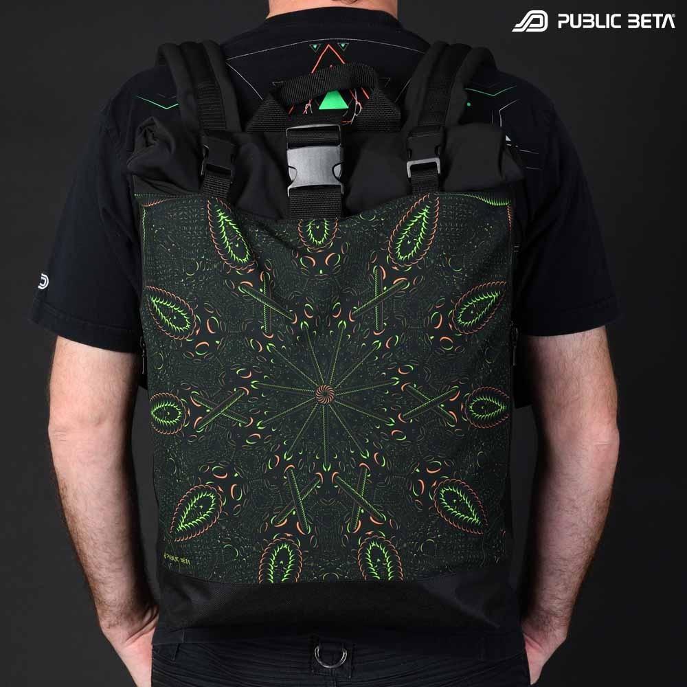 Roll-Top Backpack / Psycrifise UV D125