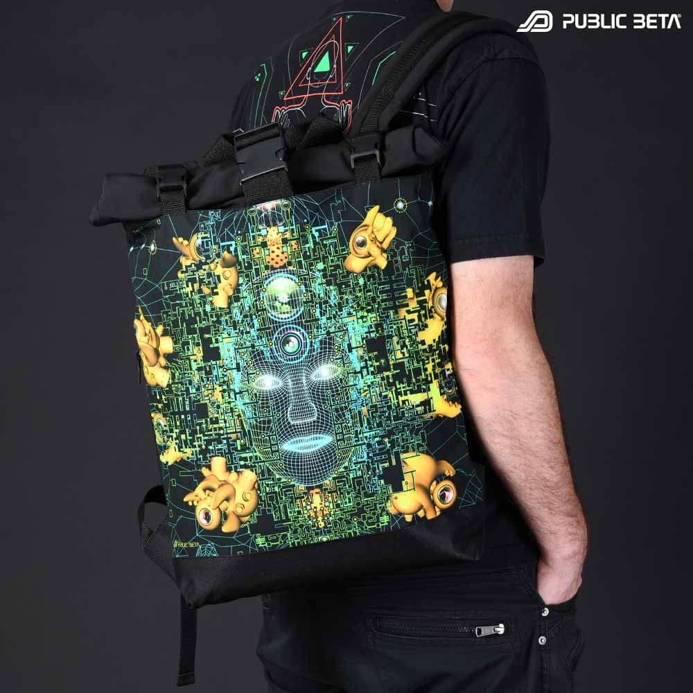 Backpack with Roll-Top / Innerverse UV D138