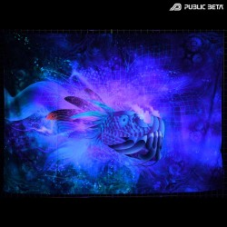 Transition Of Dimensions TOD D148 Blacklight Active Tapestry