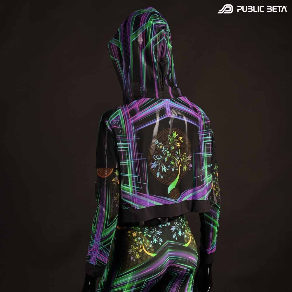 Glow in Blacklight Psyclothing