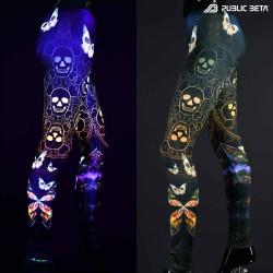 UV leggings by Public Beta Wear