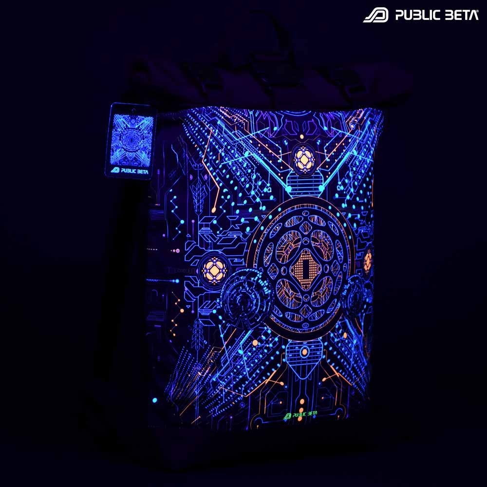 Roll-Top Backpack / Motherboard UV D146