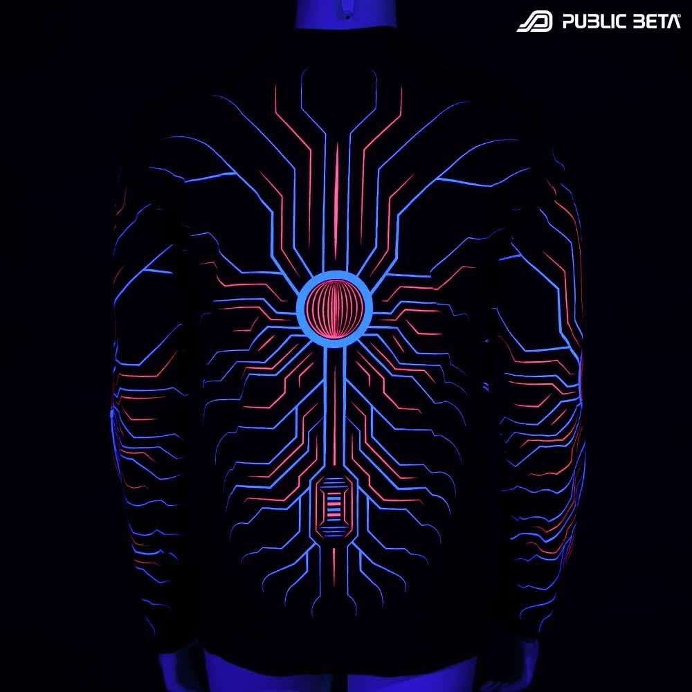 Kali UV D150 / Glow in Blacklight Longsleeve Shirt