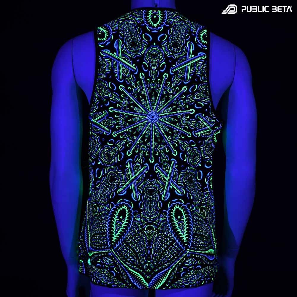 Psycrifise UV D125 Sleeveless Shirt / UV Active Art Print