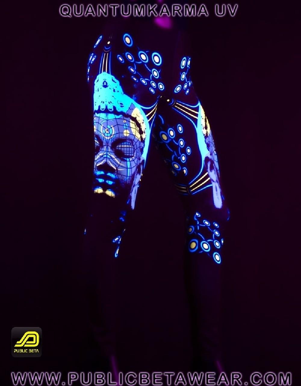 Quantumkarma UV D57 - Leggings by Public Beta Wear