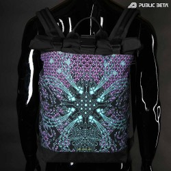 Backpack with Roll-Top / Dark Nebula UV D5