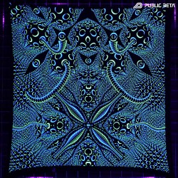 Psycrifise UV D125 Cotton Wallhanging UV Art Print