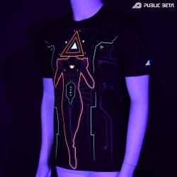 Oracle by Public Beta Wear Blacklight Psytrance T-Shirt