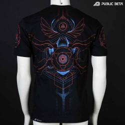 Public Beta Wear Blacklight Psytrance Fashion 100th Design