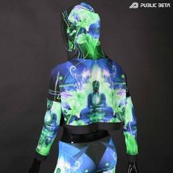 Source Buddha Top by Public Beta Wear Blacklight Psytrance Fashion