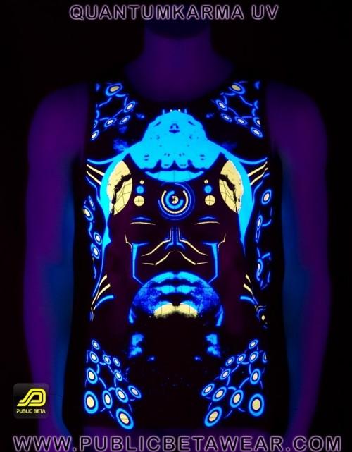 Quantumkarma UV D57 - Sleeveless T-Shirt by Public Beta Wear