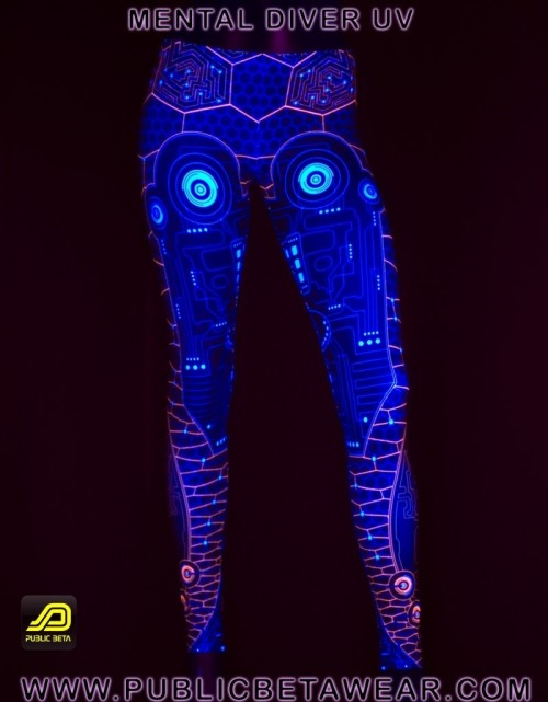 Mental Diver UV D10 - Leggings by Public Beta Wear